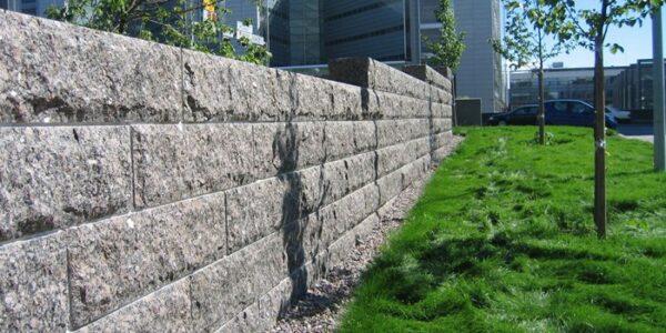 Graniidist müürikivid